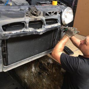Замена радиатора охлаждения двигателя