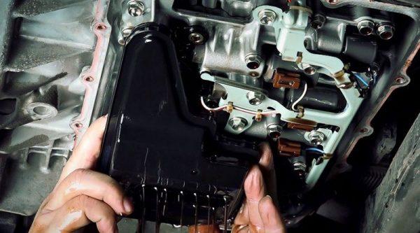 Замена масла в автоматической коробке передач в Харькове